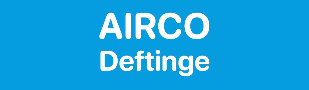 Airco in Deftinge