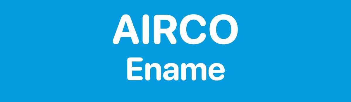 Airco in Ename
