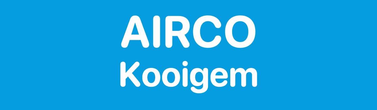 Airco in Kooigem