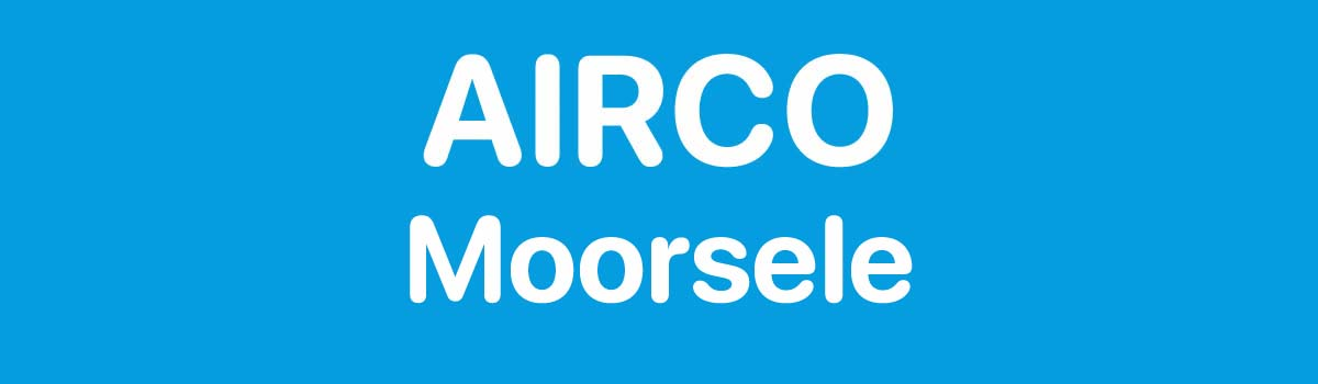 Airco in Moorsele