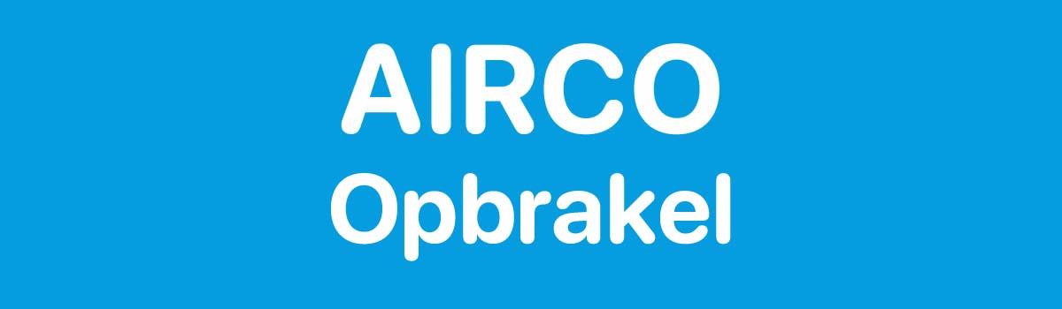 Airco in Opbrakel