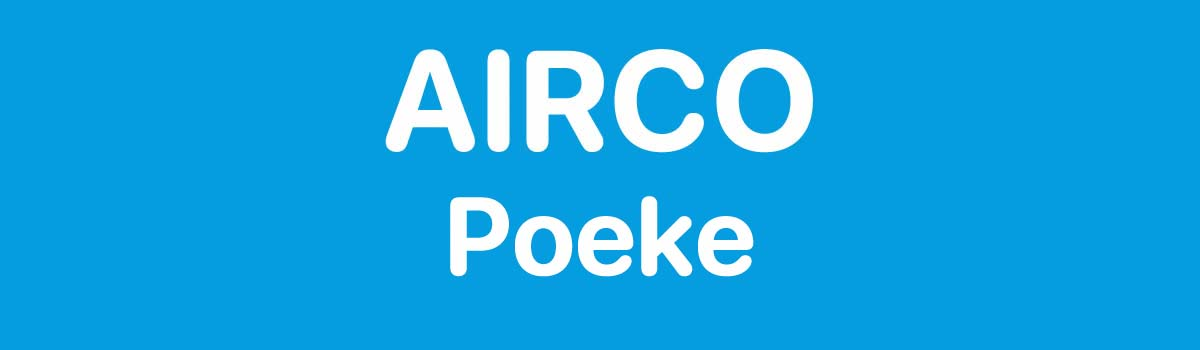 Airco in Poeke