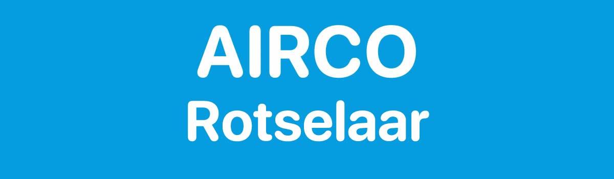 Airco in Rotselaar