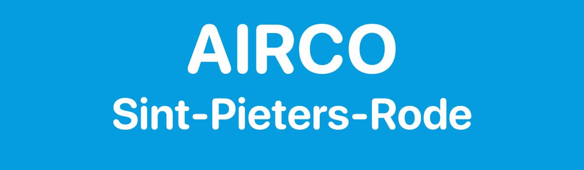 Airco in Sint-Pieters-Rode