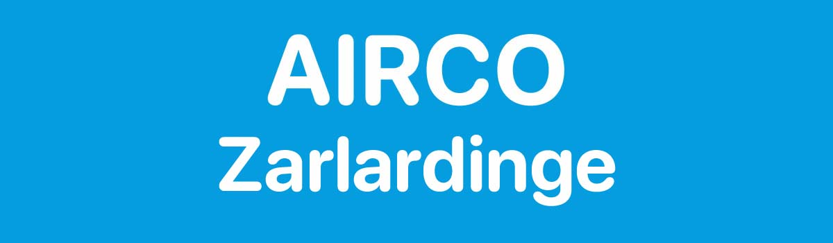 Airco in Zarlardinge